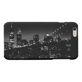 Black White New York City iPhone 6 Plus Case