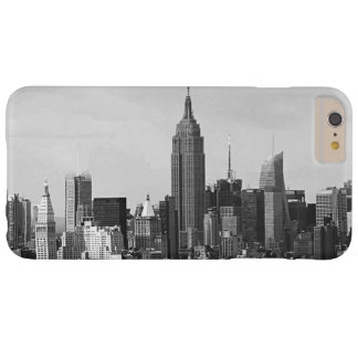 Black White New York City iPhone 6 Plus Case