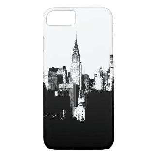 Black & White New York City iPhone 7 Case
