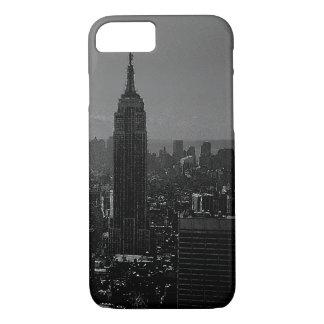 Black White New York City iPhone 7 Case