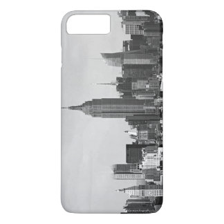 Black White New York City iPhone 7 Plus Case