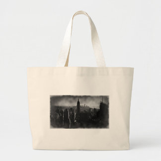Black & White New York City Jumbo Tote Bag