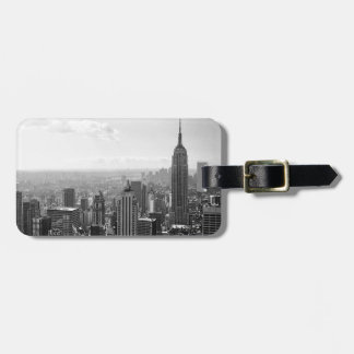 Black & White New York City Luggage Tag