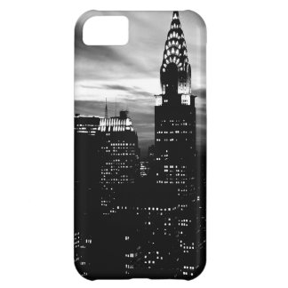 Black & White New York City Midtown Cover For iPhone 5C