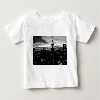 Black & White New York City Midtown Infant T-shirt