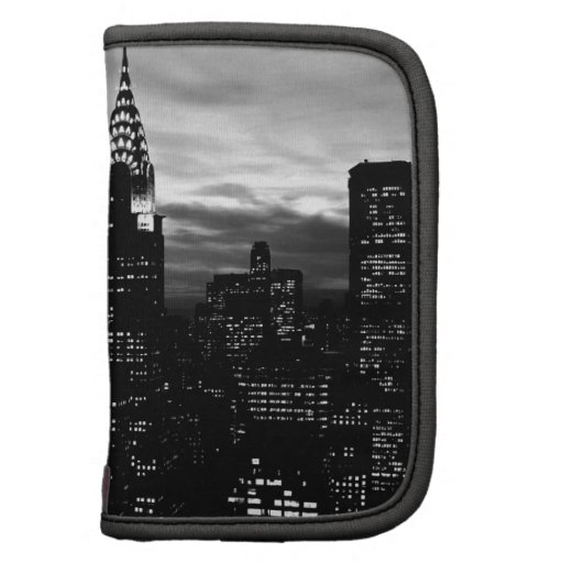 Black & White New York City Midtown Folio Planners