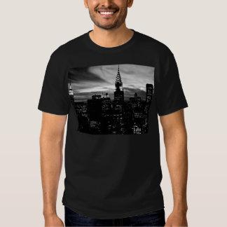 Black & White New York City Midtown Shirt