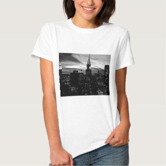 Black & White New York City Midtown T Shirt