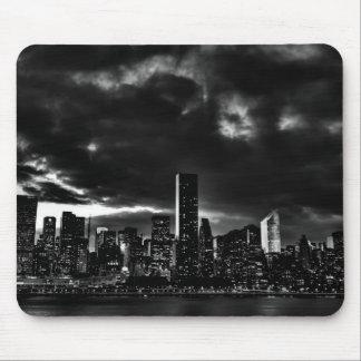 Black & White New York City Mouse Pad