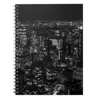 Black & White New York City Notebook