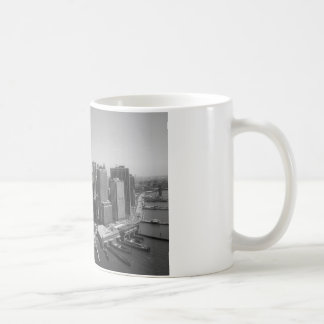 Black White New York City Skyline Coffee Mug