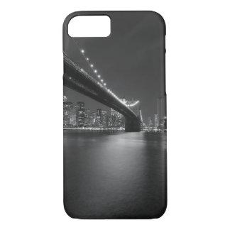 Black White New York City Skyline iPhone 7 Case
