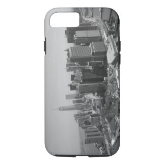 Black White New York City Skyline iPhone 8/7 Case