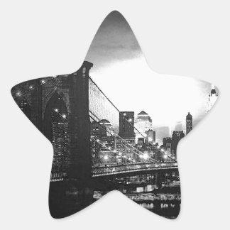 Black & White New York City Sticker