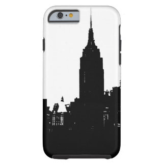 Black White New York City Tough iPhone 6 Case