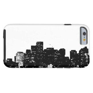 Black White New York City Tough iPhone 6 Case