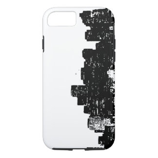 Black White New York City Tough iPhone 7 Case