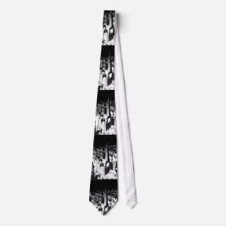 Black & White New York Custom Ties