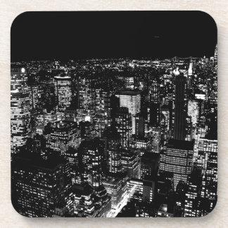 Black & White New York Drink Coasters