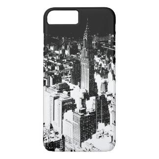 Black & White New York iPhone 7 Plus Case