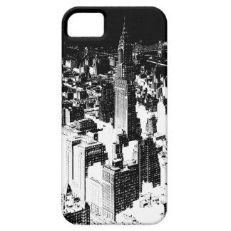 Black & White New York iPhone SE/5/5s Case