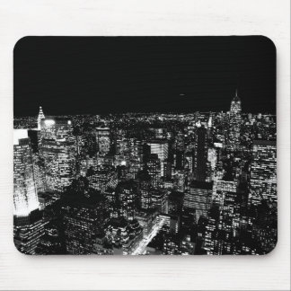 Black & White New York Mouse Pad