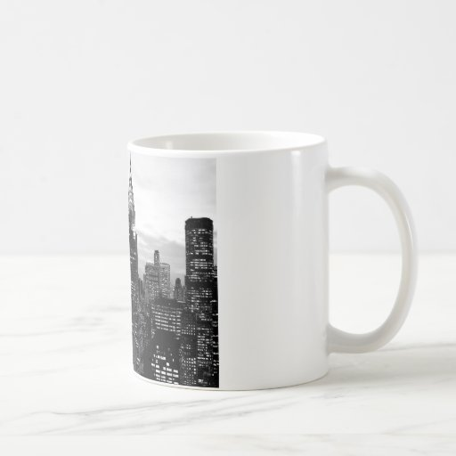 Black & White New York Coffee Mugs
