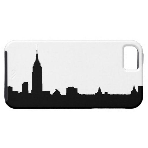 Black & White New York Silhouette iPhone 5 Covers