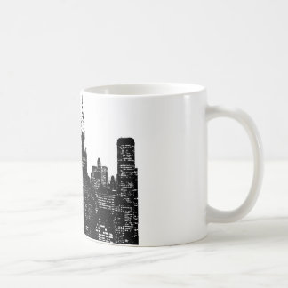 Black & White New York Silhouette Coffee Mug