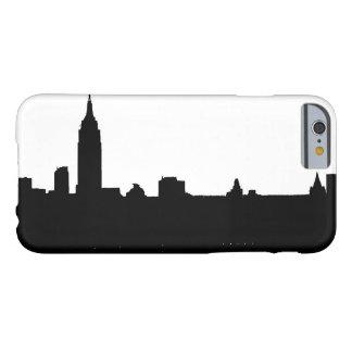 Black White New York Silhouette iPhone 6 Case