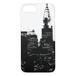Black & White New York Silhouette iPhone 7 Case