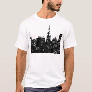 Black & White New York Silhouette T-Shirt