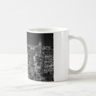 Black White New York Skyscrapers Coffee Mug