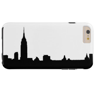 Black White New York Tough iPhone 6 Plus Case