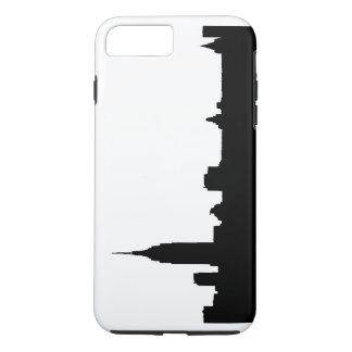 Black White New York Tough iPhone 7 Plus Case