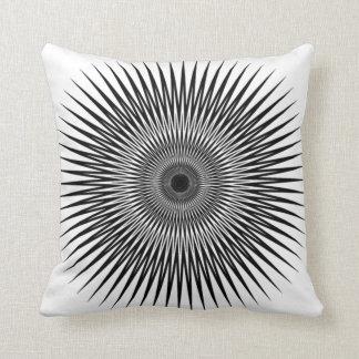 black_white no2 de la almohada de tiro de la cojín decorativo