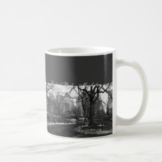 Black White NY Central Park Coffee Mug