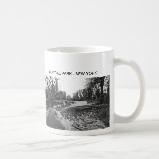 Black White NY Central Park nr 1 Coffee Mug