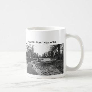 Black White NY Central Park nr 1 Classic White Coffee Mug