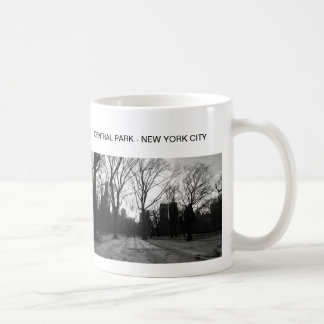 Black White NY Central Park nr 5 Coffee Mug