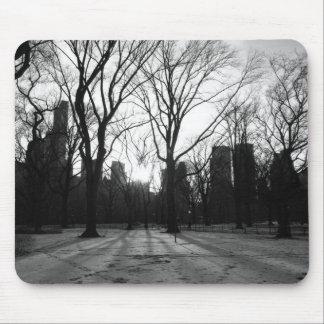 Black White NY Central Park nr 5 Mouse Pad
