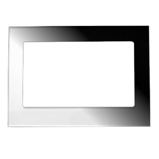 Black White Ombre Magnetic Picture Frame