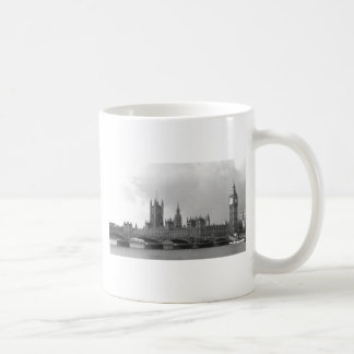 Black White Palace of Westminster Coffee Mug