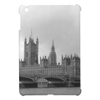 Black White Palace of Westminster iPad Mini Cover