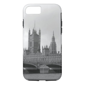 Black White Palace of Westminster iPhone 8/7 Case
