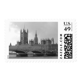 Black & White Palace of Westminster Postage