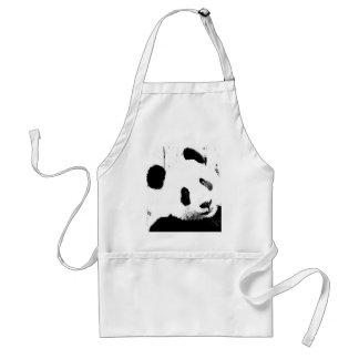 Black & White Panda Apron