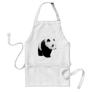 Black & White Panda Aprons
