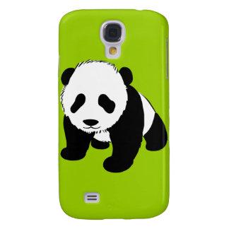 BLACK WHITE PANDA BEAR ENVIRONMENT ANIMALS WILD GALAXY S4 COVERS