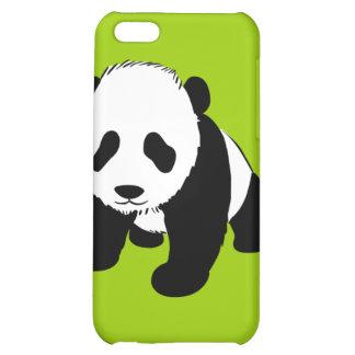 BLACK WHITE PANDA BEAR ENVIRONMENT ANIMALS WILD iPhone 5C CASE